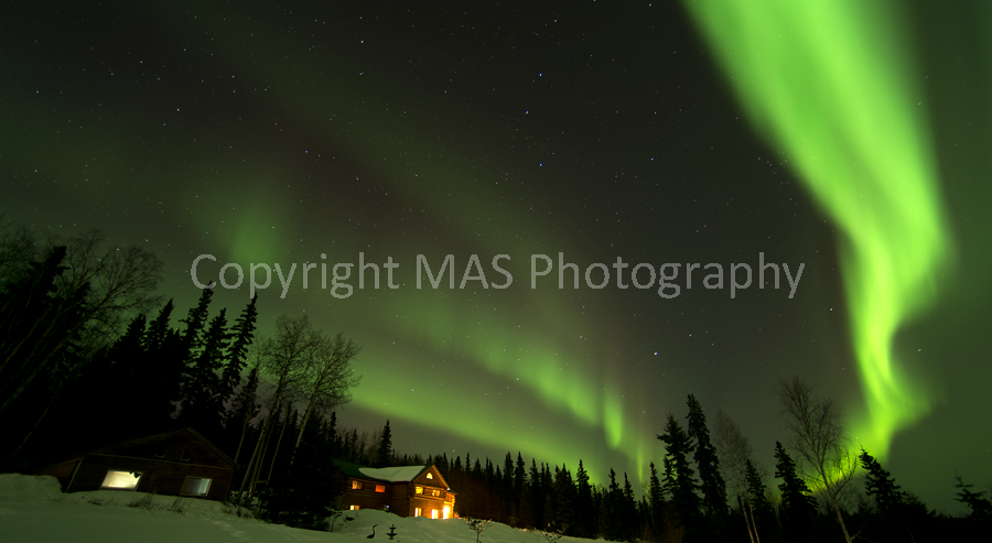 Aurora, Taste of Alaska Lodge